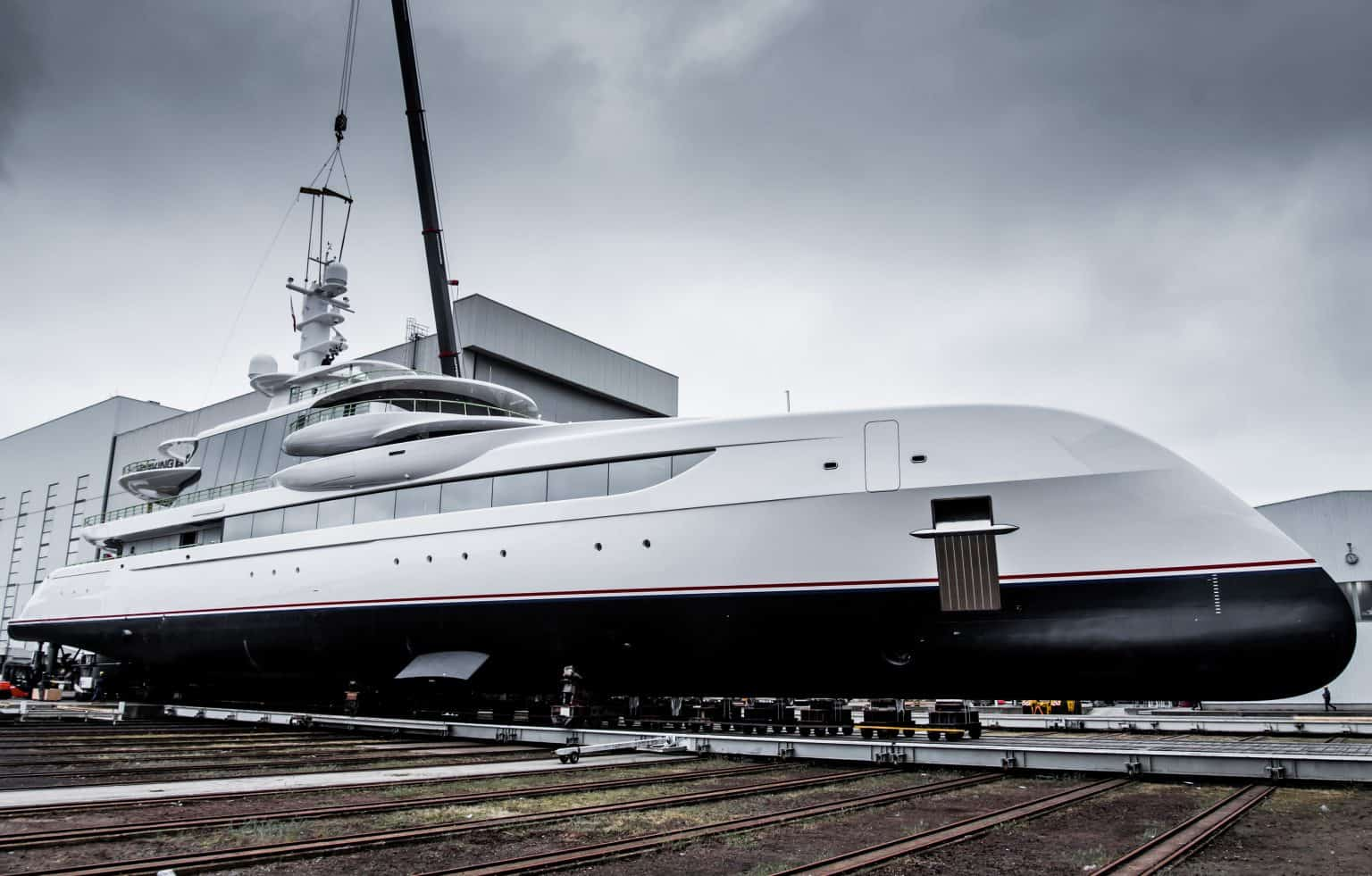 To Be Launched At The Yard