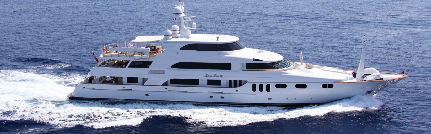 Secure Luxury Yacht Keri Lee III for Charter