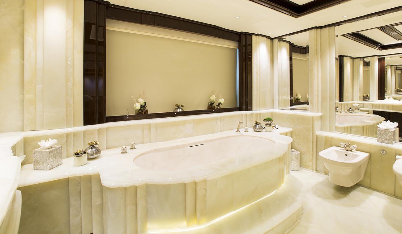 Ultra Luxurious Marble Bathroom