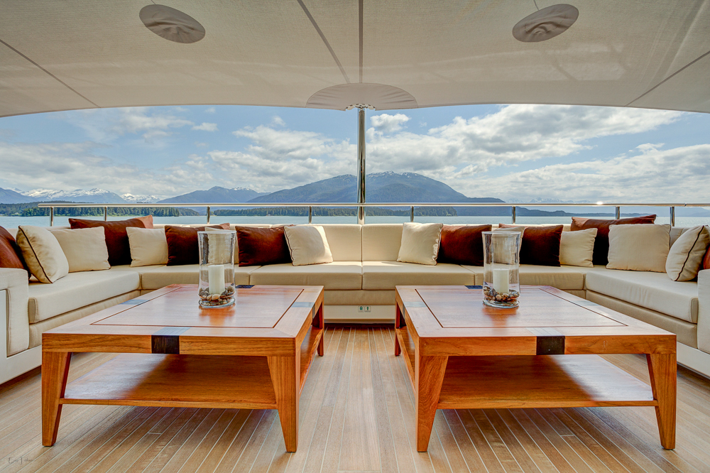 Upper Deck Aft Seating Area