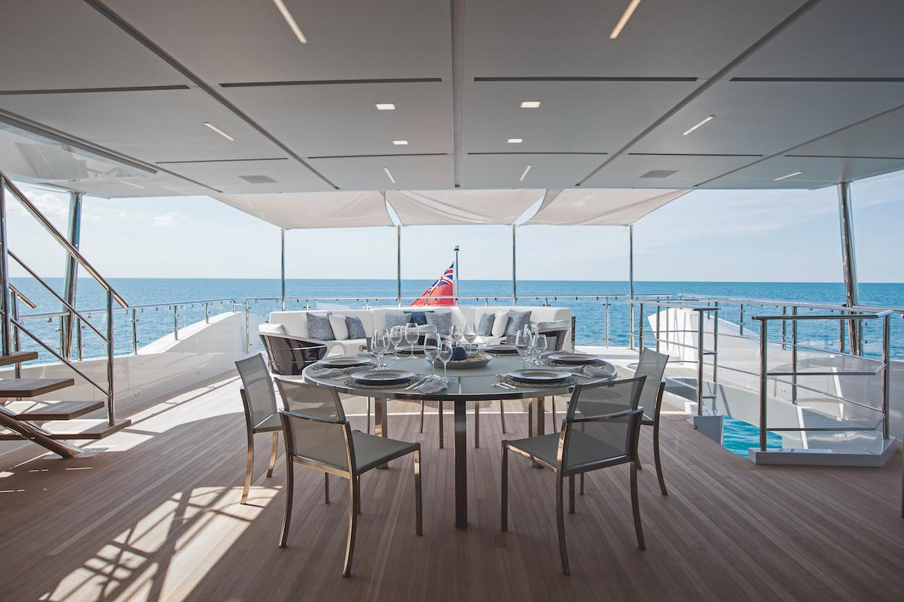 Upper Deck Dining Aft Alfresco