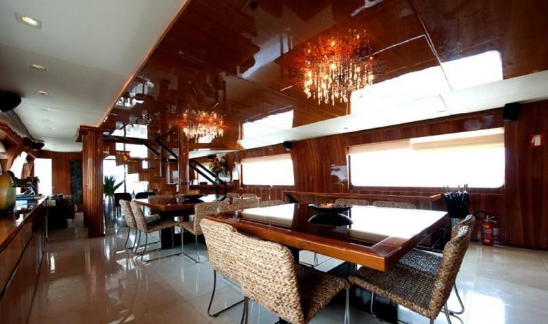 Eating/dining Furniture On Yacht ZENITH
