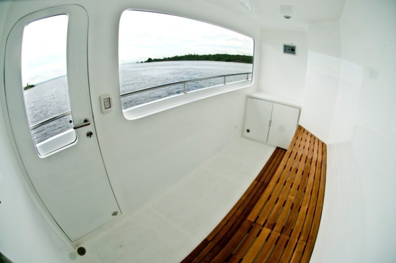 Sauna Area On Yacht ZENITH