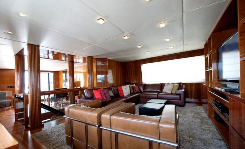 Saloon On Board Yacht ZENITH