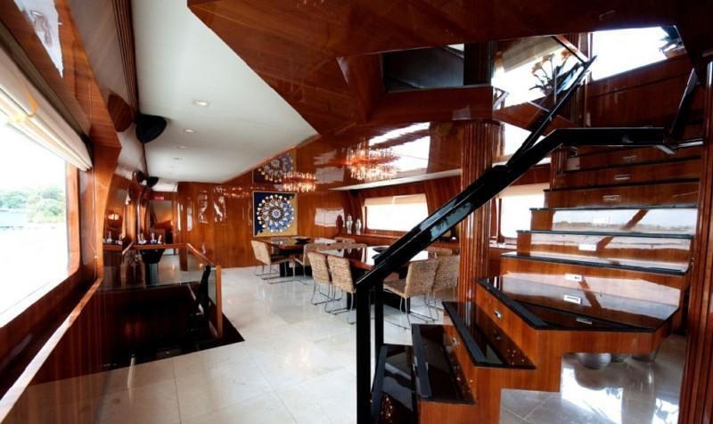 Saloon Aboard Yacht ZENITH