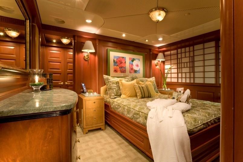 Portside Guest's Cabin Aboard Yacht ATLANTICA