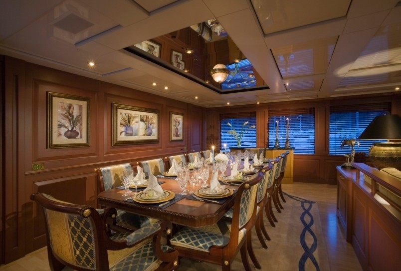 Eating/dining Saloon On Yacht ATLANTICA
