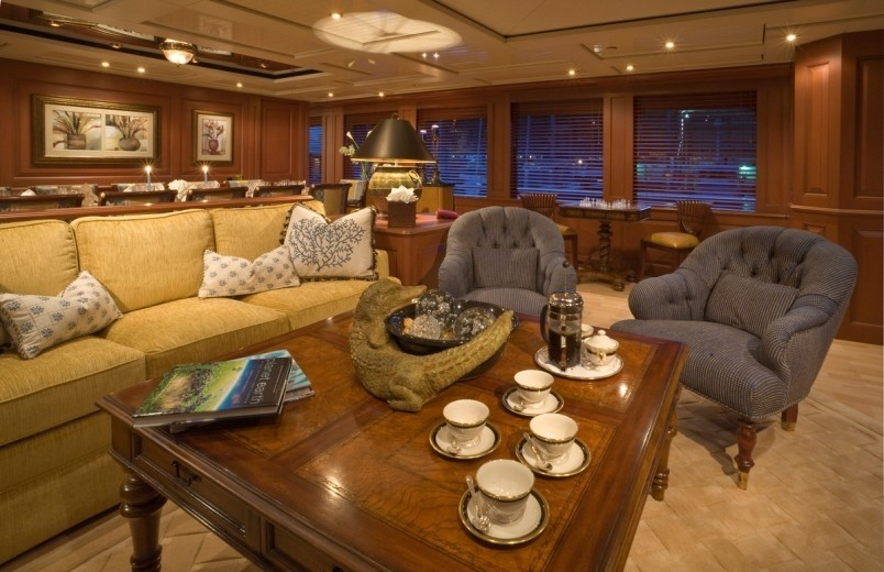 Premier Saloon On Board Yacht ATLANTICA