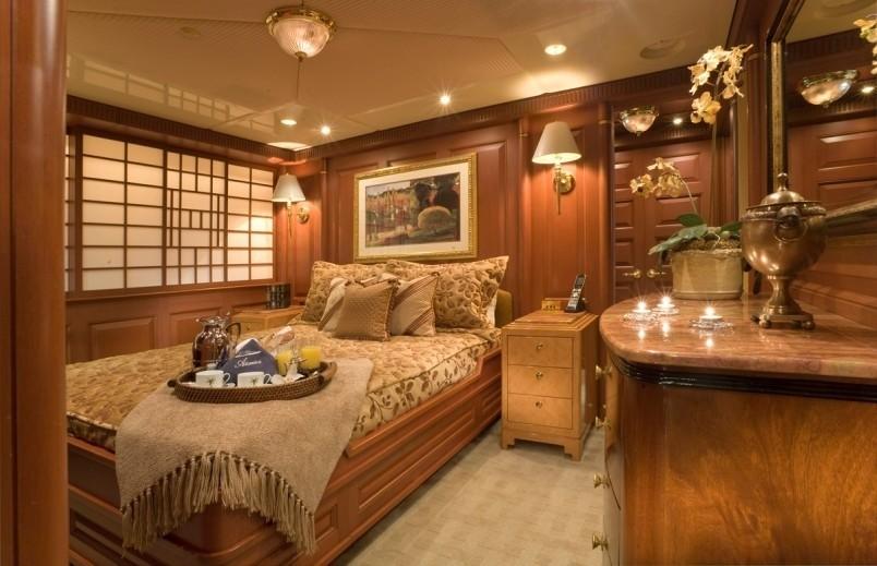 Starboard Side Guest's Cabin On Yacht ATLANTICA