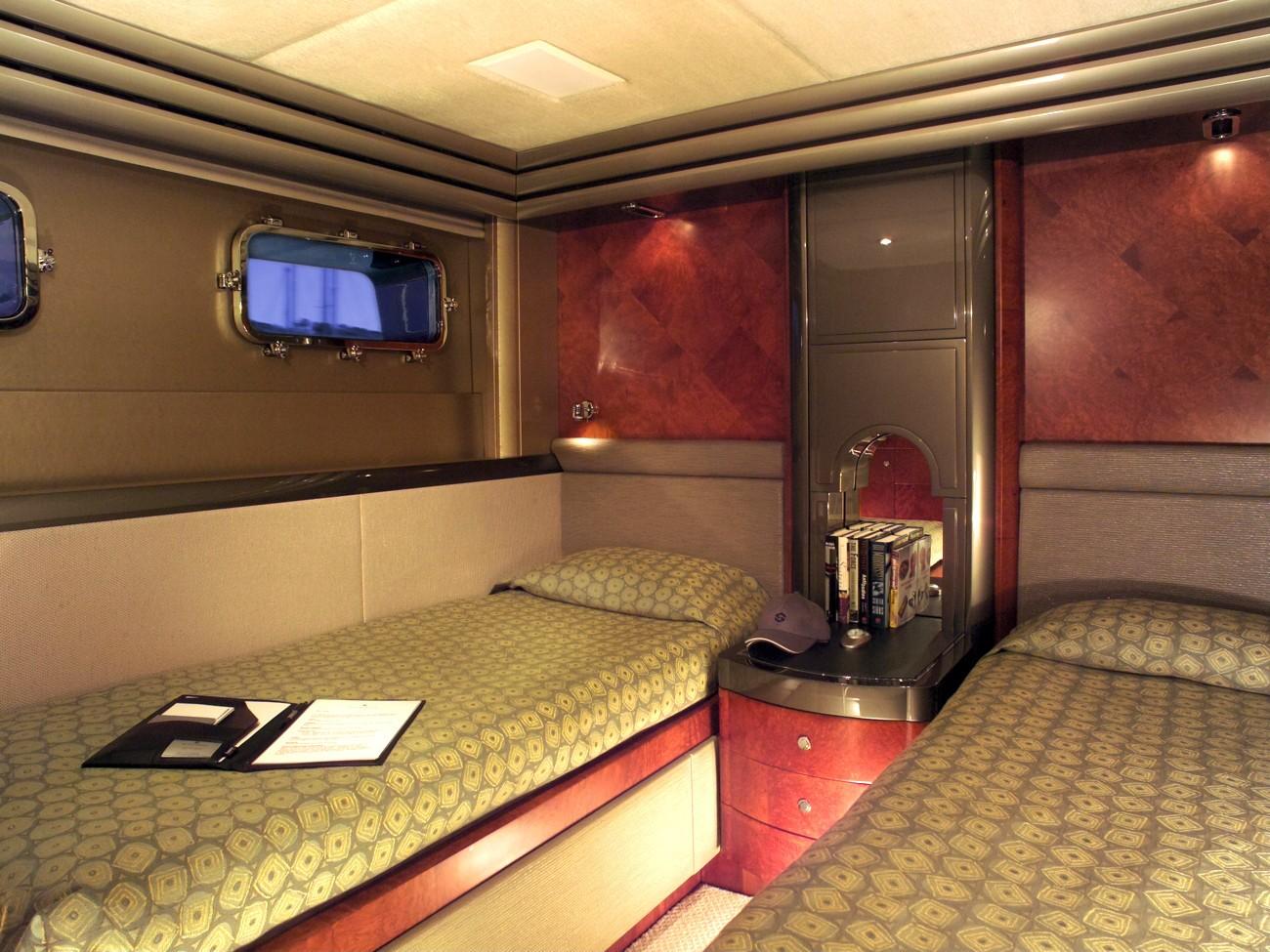 Twin Bed Cabin On Board Yacht SILVER DREAM
