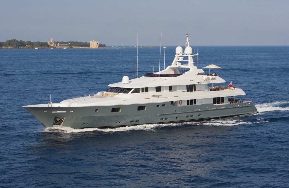 The 50m Yacht MOSAIQUE