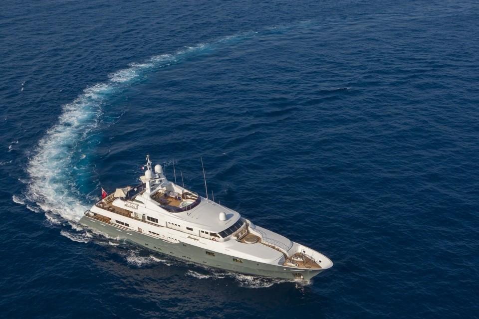 The 50m Yacht MOSAIQUE