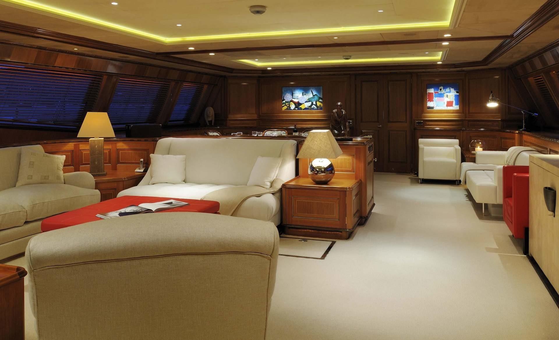 Saloon On Yacht DRUMBEAT