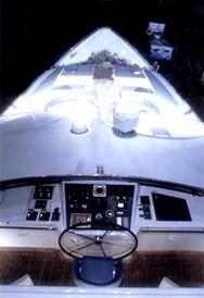 Ship's Tender Aboard Yacht FAM