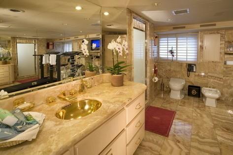 Personal Bathroom On Yacht FAM
