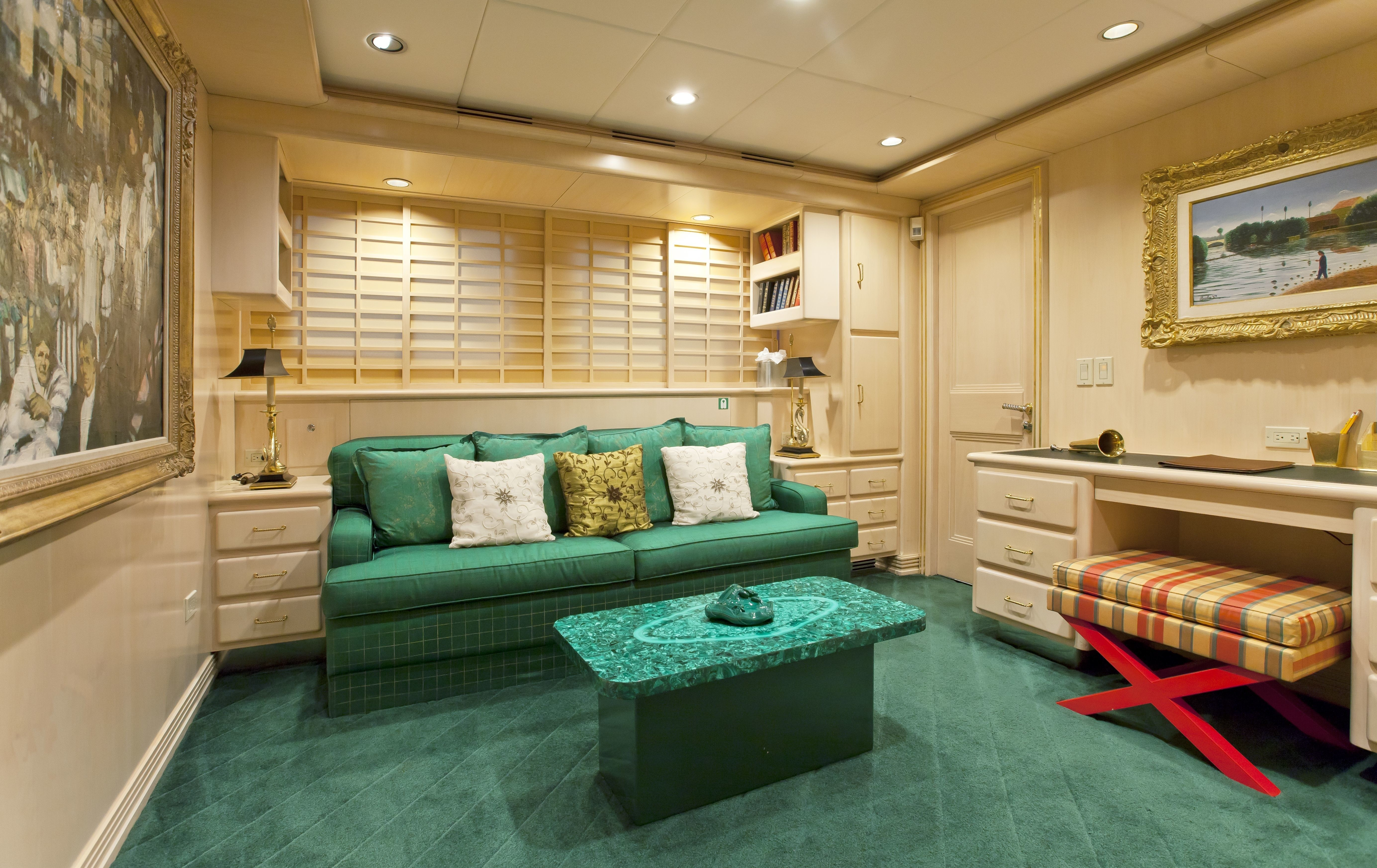 Personal Lounging Aboard Yacht FAM