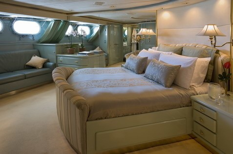 Neutralised Guest's Cabin On Yacht FAM