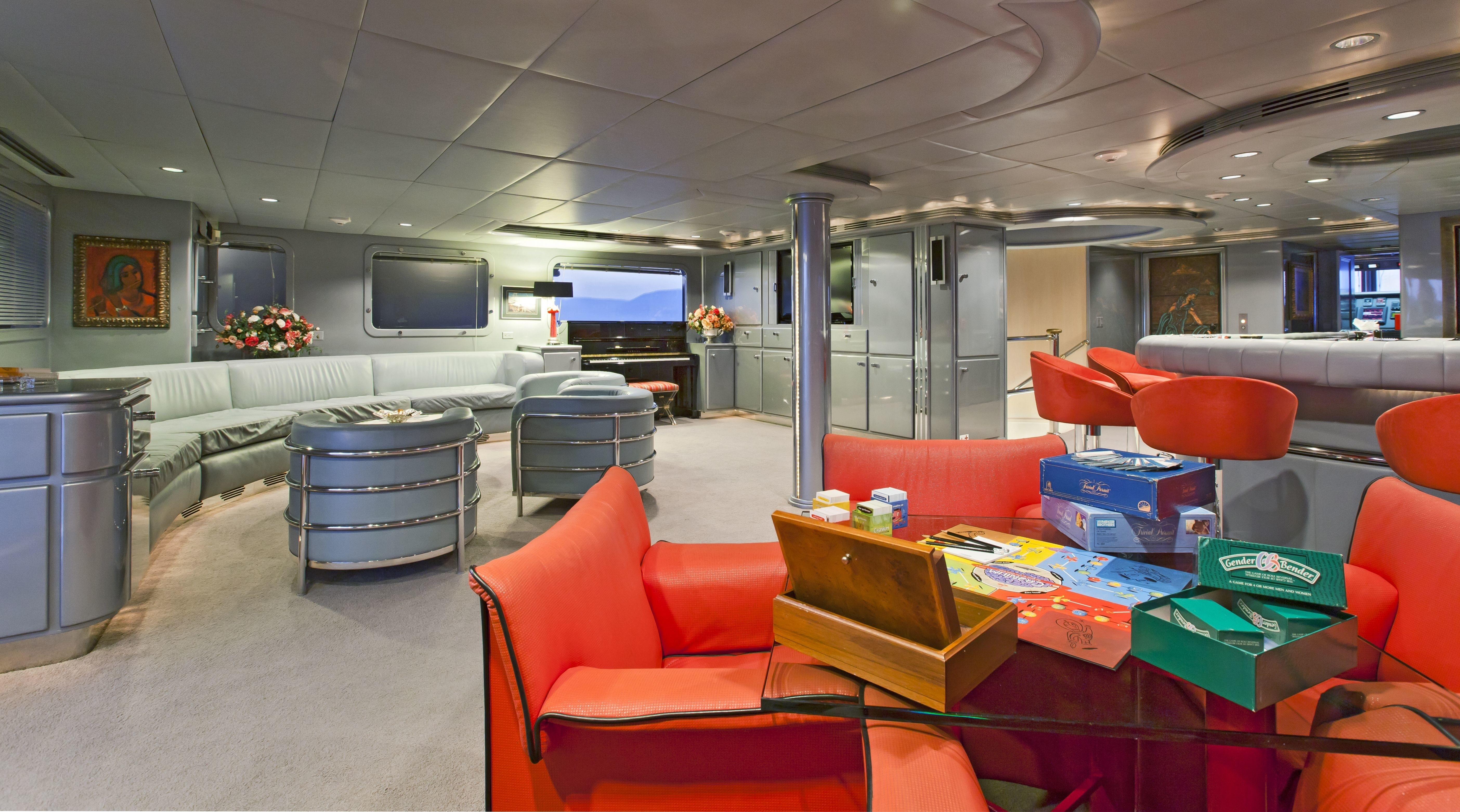 Games Furniture On Yacht FAM