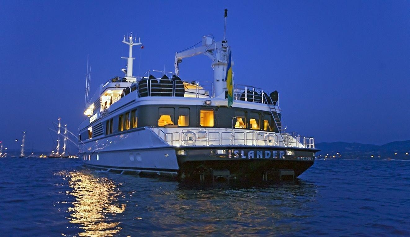 Evening: Yacht FAM's Aft Photograph