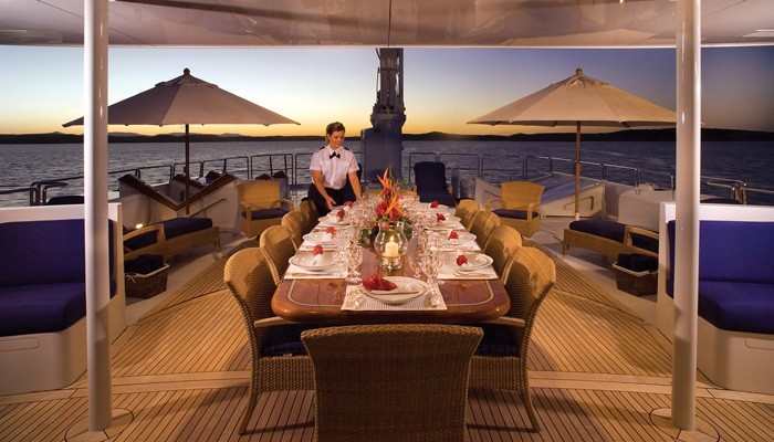External Eating/dining On Yacht FAM