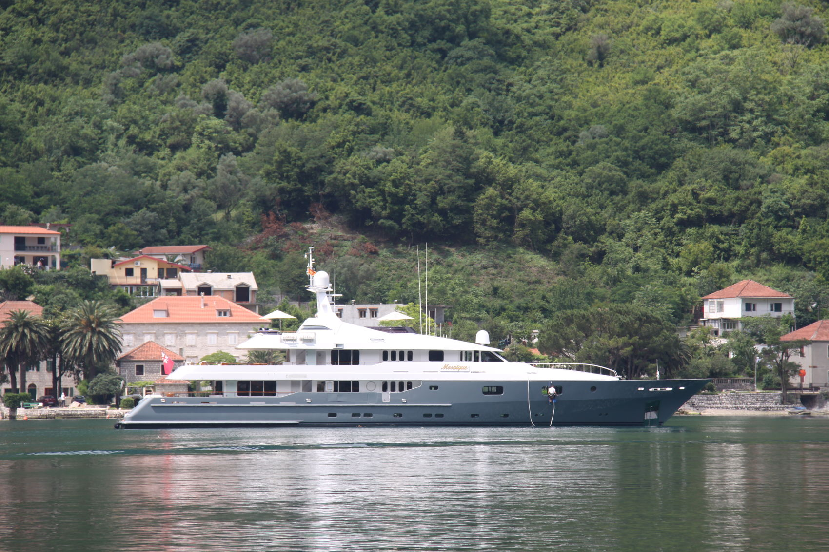 Luxury Charter Vacations Aboard Motor Yacht Mosaique