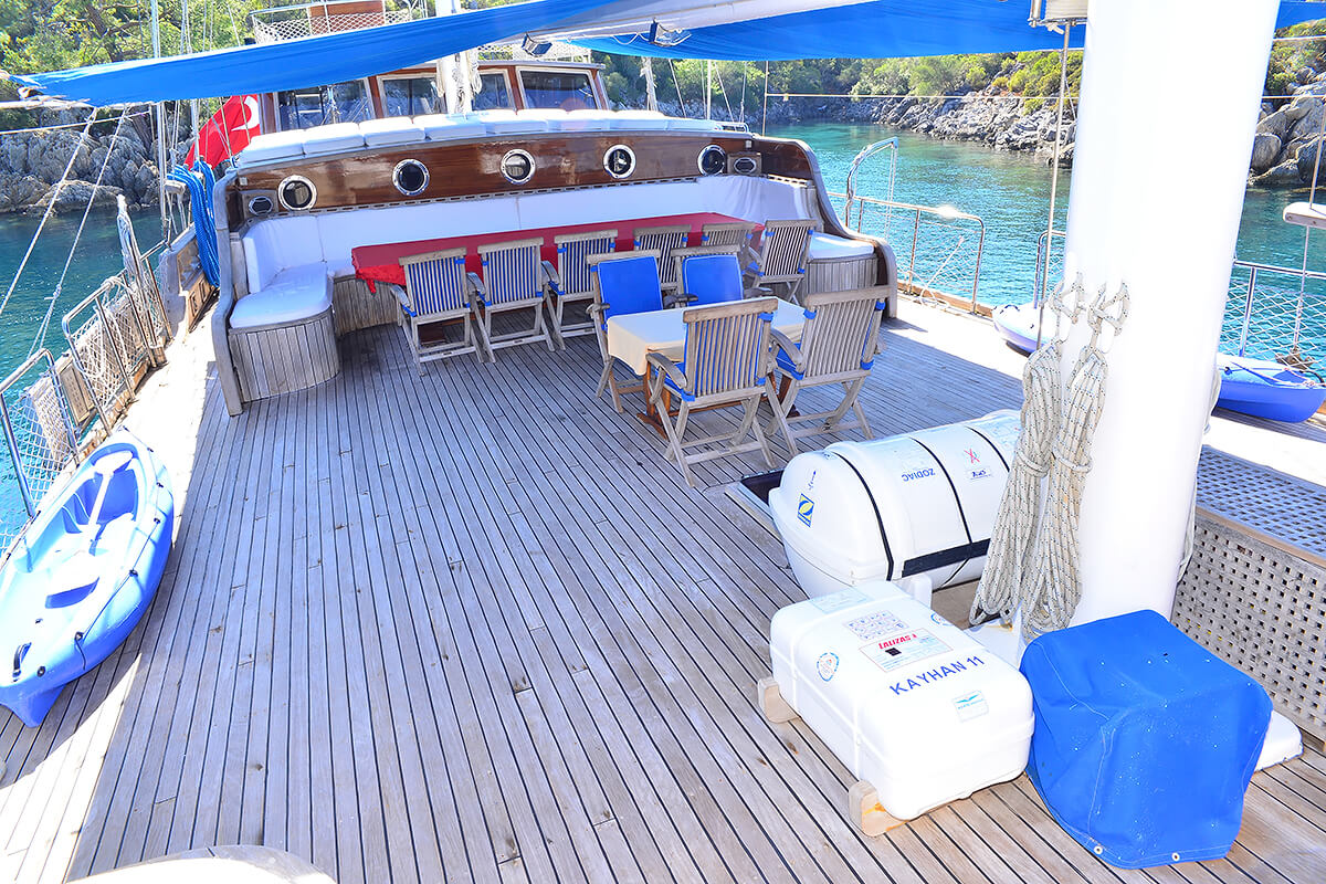 Table On Fore Deck