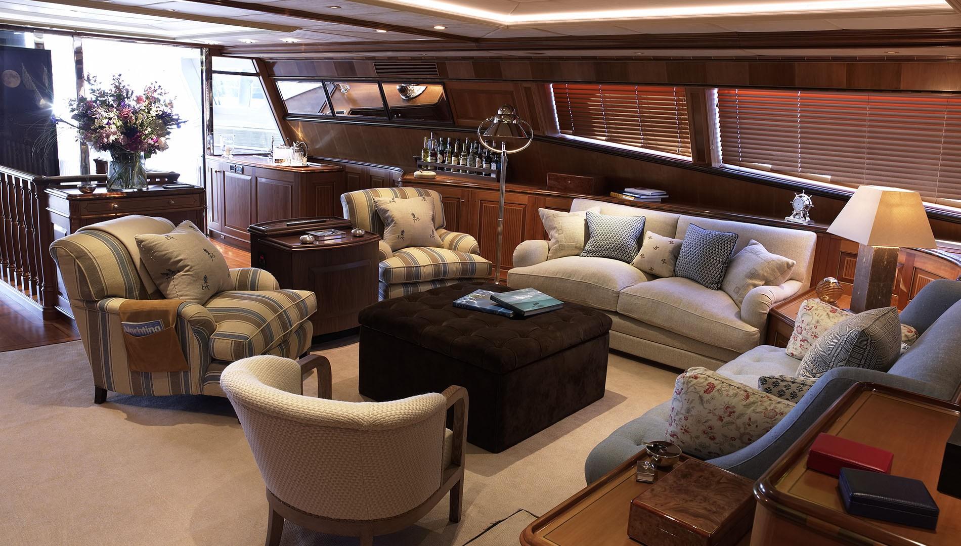 Yacht DRUMBEAT - Alloy Yachts - Interior