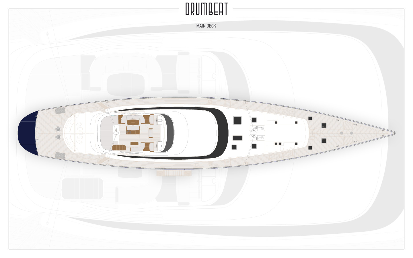 Yacht DRUMBEAT - Alloy Yachts - Plans 2