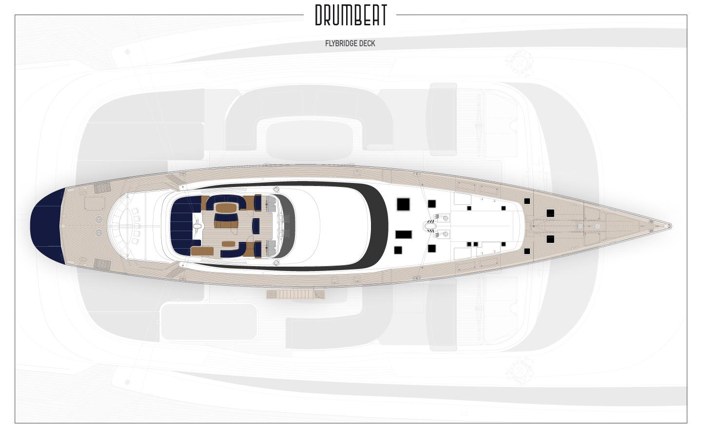 Yacht DRUMBEAT - Alloy Yachts - Plans