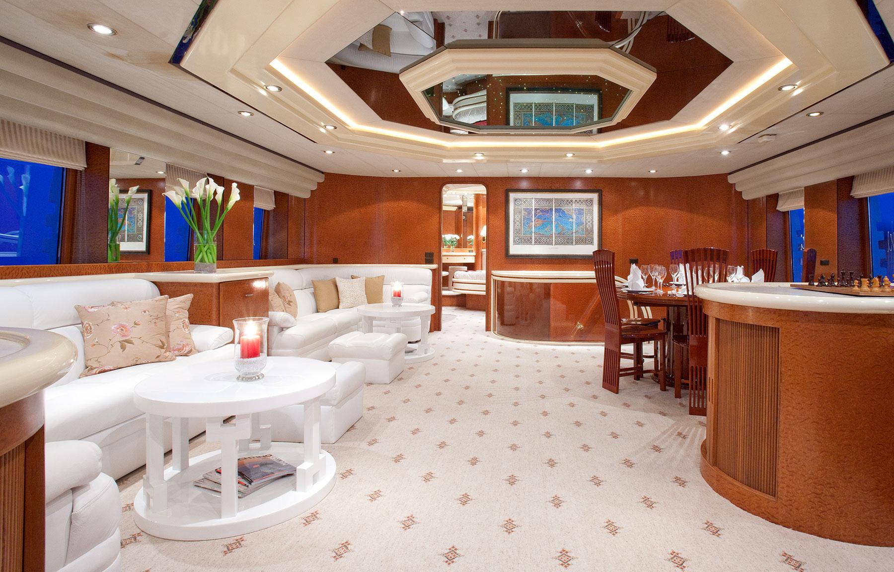 Yacht SUPERTOY - Salon