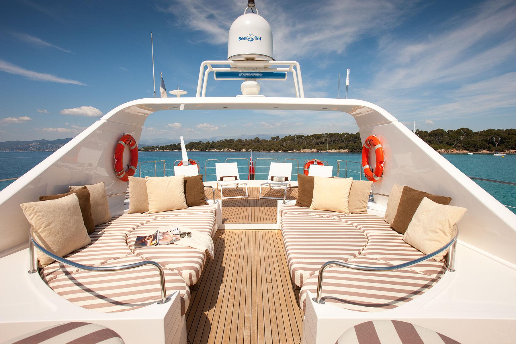 Yacht SUPERTOY - Sundeck