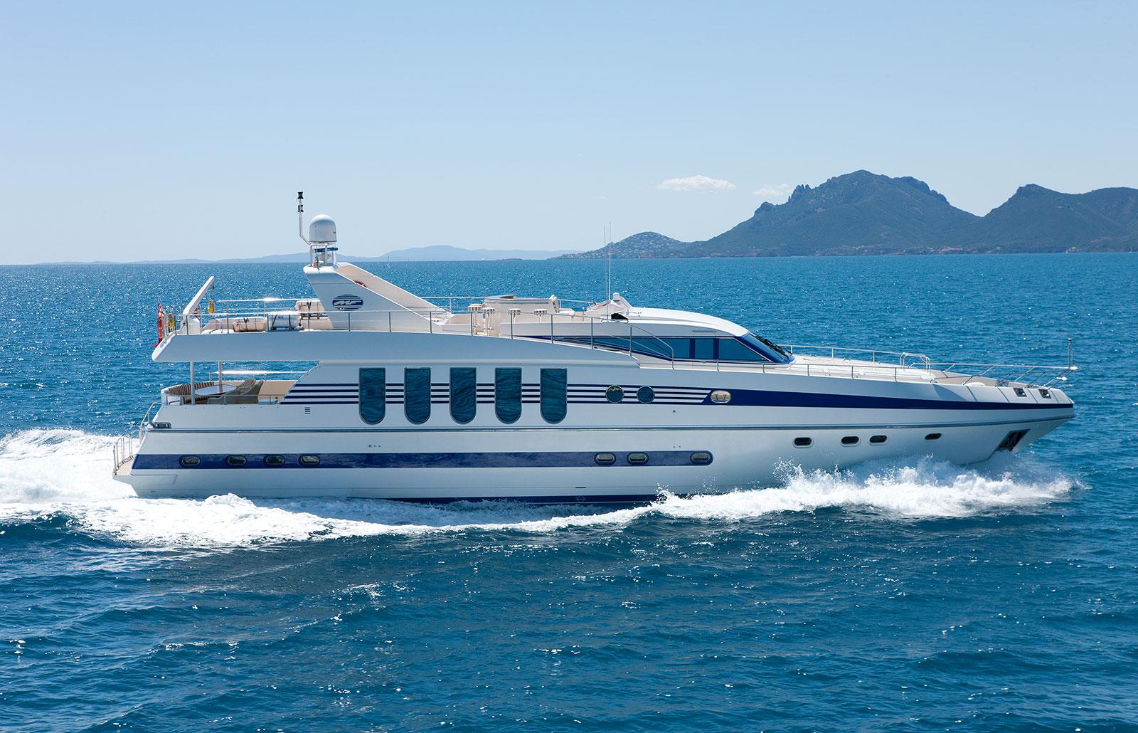 Yacht SUPERTOY - Underway