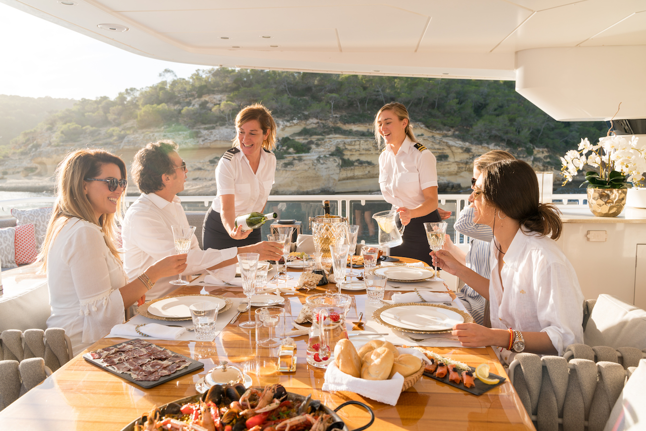 Alfresco Superyacht Meal