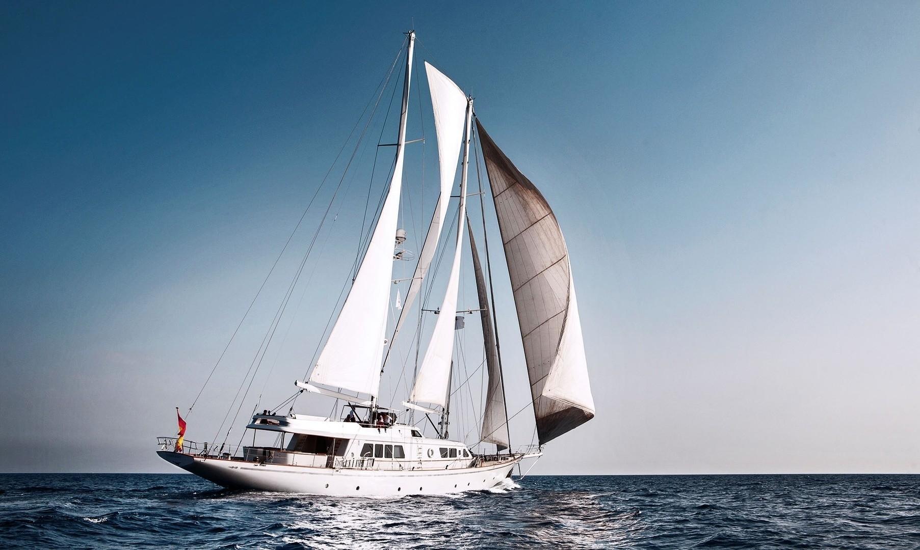 Cruising On Yacht AIGLON
