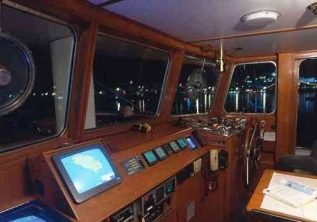Bridgedeck On Board Yacht AIGLON