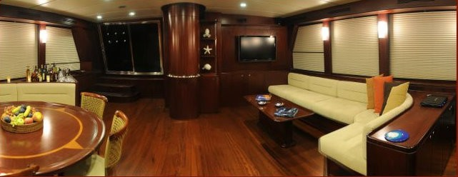 Premier Saloon On Board Yacht ANNABELLA