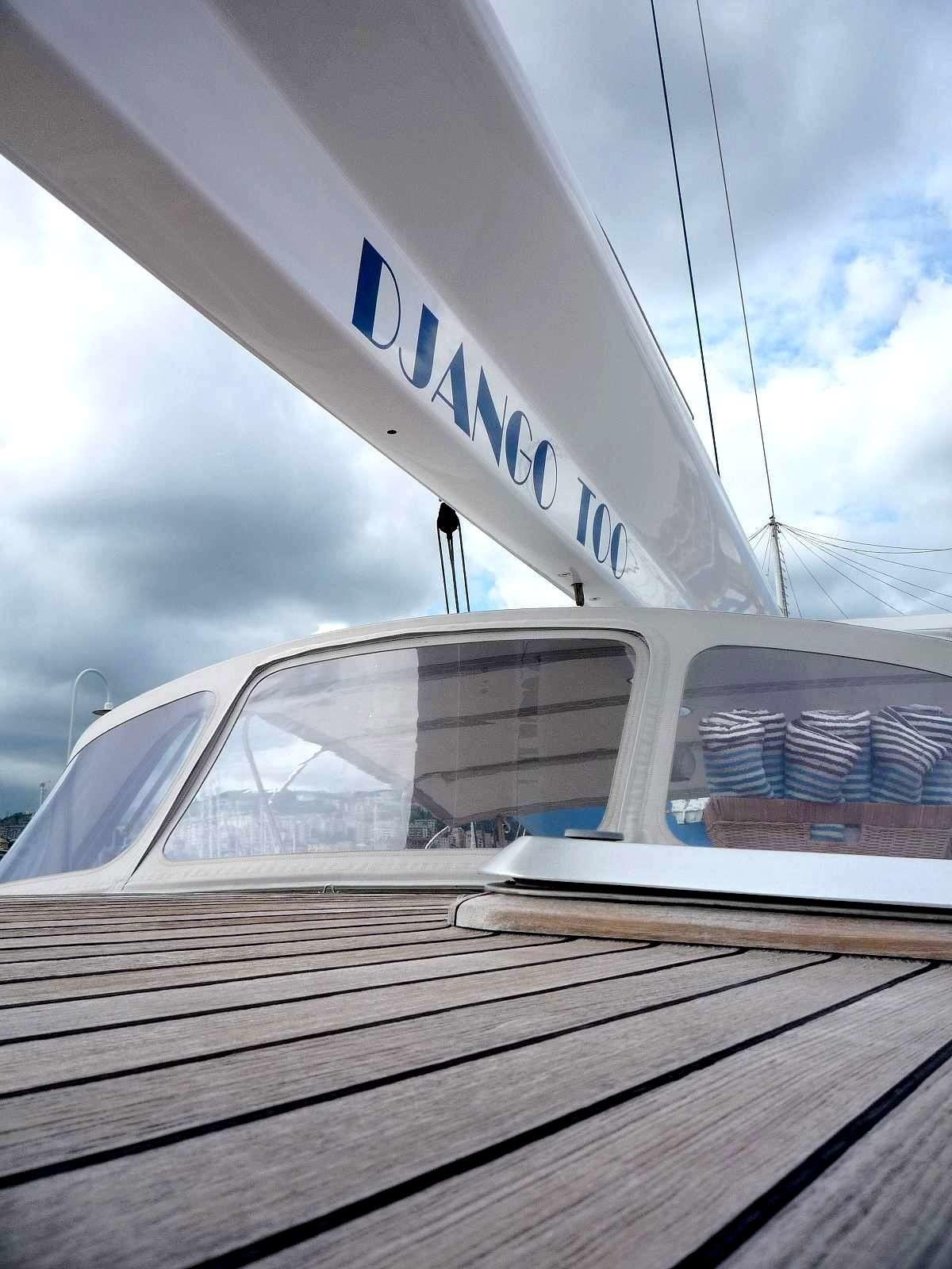 The 25m Yacht DJANGO TOO