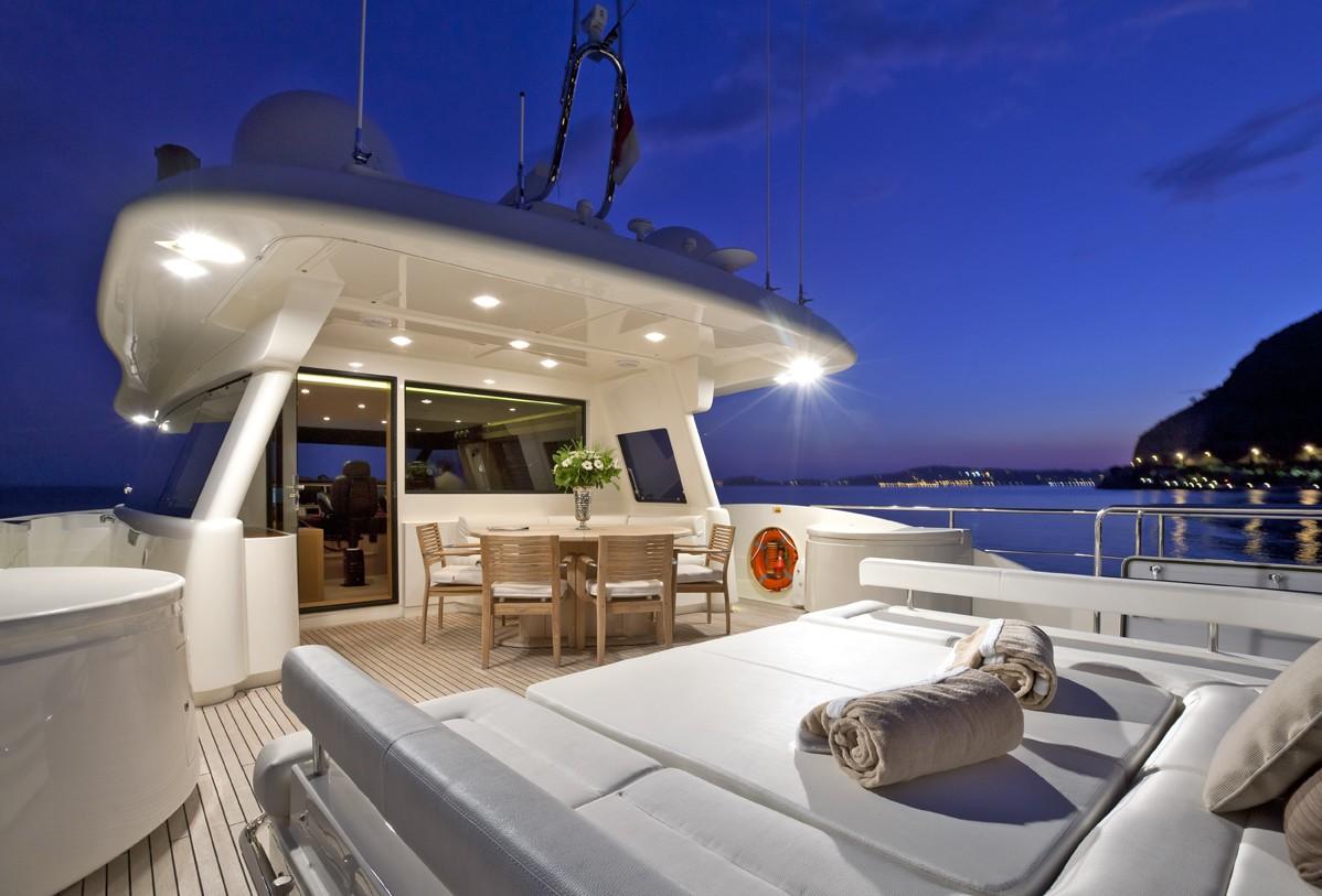 Life On Board Yacht LA PAUSA