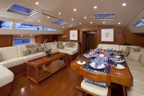 Inside Aboard Yacht VIRAGO