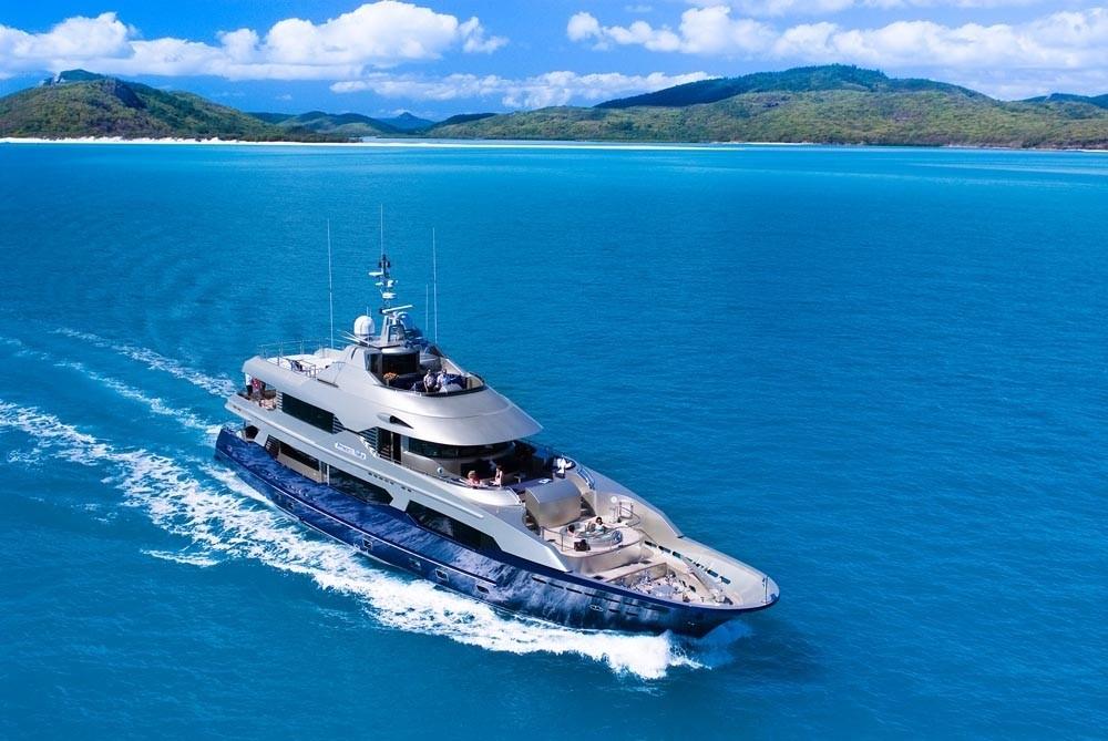 The 34m Yacht PRINCESS ILUKA