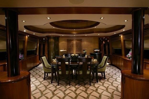 Eating/dining Area Aboard Yacht JOAN'S ARK