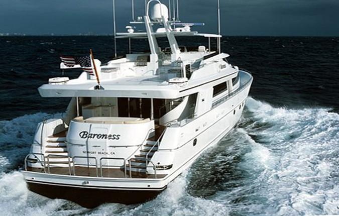 Aft On Yacht JOAN'S ARK
