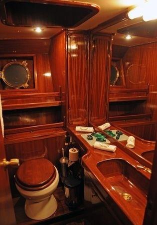 Main Master Bath Aboard Yacht OFELIA
