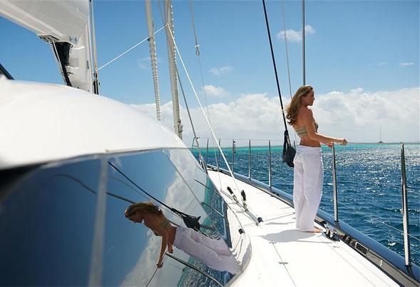 Profile Decks On Board Yacht BLISS