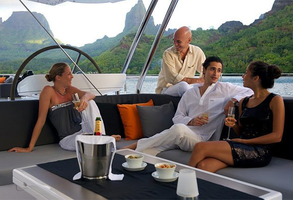 External Drinks On Yacht BLISS