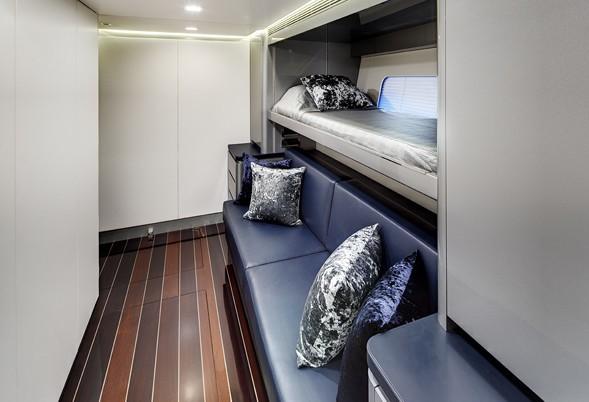 Convertible Bunks Aboard Yacht BLISS