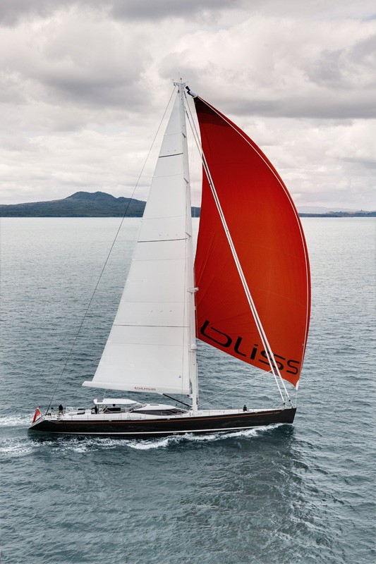 Cruising Under Sail Aboard Yacht BLISS