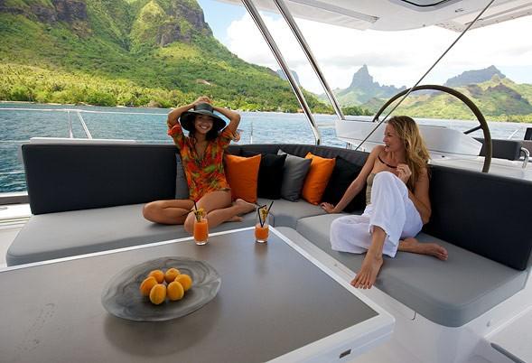 External Sitting On Yacht BLISS