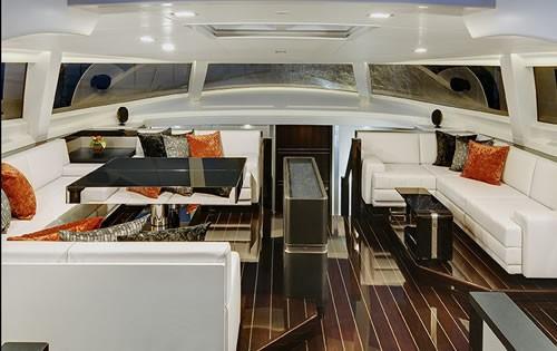 Profile: Yacht BLISS's Saloon Photograph