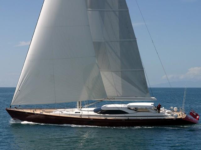 Sailing On Board Yacht LUDYNOSA G